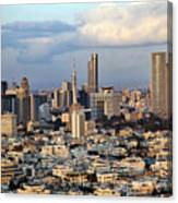 Downtown Tel-aviv Skyline Canvas Print