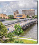 Downtown Waterloo Iowa  Canvas Print
