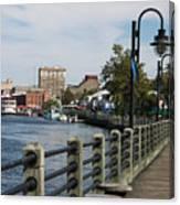 Downtown Wilmington Canvas Print
