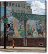 Downtown Winston Salem Series V Canvas Print