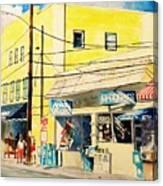 Downtown Wrightsville Beach Canvas Print