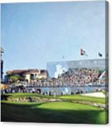 Dp World Tour Championship 2015 - Open Edition Canvas Print