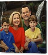 Dr. Devon Ballard And Family Canvas Print