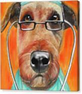 Dr. Dog Canvas Print