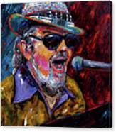 Dr. John Portrait Canvas Print