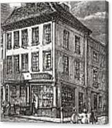 Dr. Samuel Johnson S Birthplace In Canvas Print