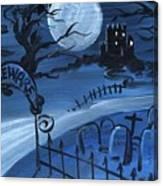 Dracula's Castle Canvas Print