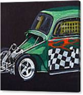 Drag Racing Vw Canvas Print