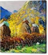 Dragobia Of Legends, Valbona Canvas Print