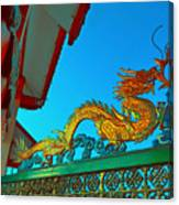 Dragon At The Gate Canvas Print