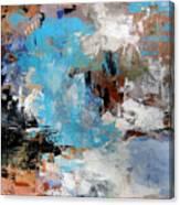 Dragon Bleu Canvas Print