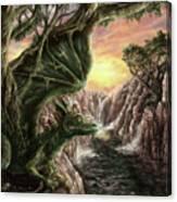 Dragon Branches Canvas Print