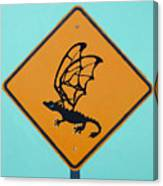 Dragon Crossing Canvas Print