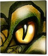 Dragon Eye Canvas Print