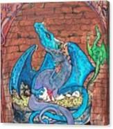 Dragon Family Canvas Print