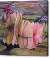 Dragon Flies Canvas Print