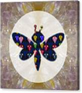 Dragon Fly Cute Painted Face Cartons All Over Donwload Option Link Below Personl N Commercial Uses Canvas Print