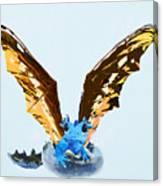 Dragon Hatching Canvas Print