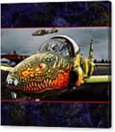 Dragon Jet Canvas Print