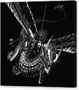 Dragon Knight Canvas Print