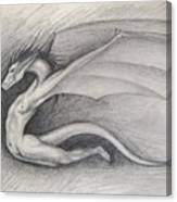 Dragon Man Canvas Print