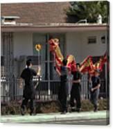 Dragon Parade Camarillo Year Of The Dog 2018 Canvas Print