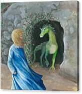 Dragon Princess 1 Canvas Print