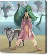 Dragon Queen Canvas Print