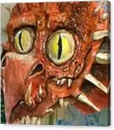 Dragon Sculpture Canvas Print