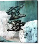 Dragon Sheep Canvas Print