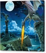 Dragon Spit Canvas Print