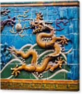 Dragon Wall Canvas Print