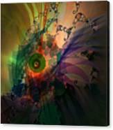 Dragon Wisdom Eye Canvas Print