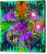 Dragons Abstract. Canvas Print