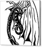 Dragons Orb Canvas Print