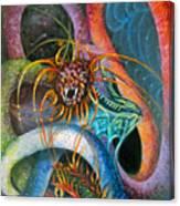 Dragons Three Canvas Print