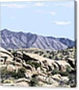 Dragoon Mountains Panorama Canvas Print