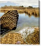 Drain - Mendon Ponds Canvas Print
