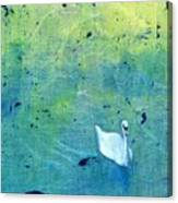 Drake Park Swan Canvas Print