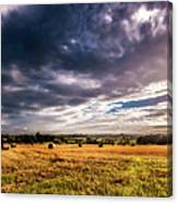 Drama In The Skies Canvas Print
