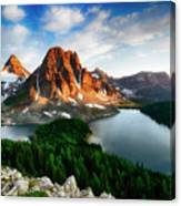 Drama Of The Canadian Rockies 3 Canvas Print