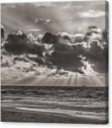 Dramatic Dutch Coast Canvas Print