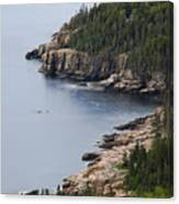 Dramatic Maine Coastline Canvas Print