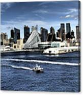 Dramatic New York City Canvas Print