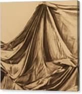 Draped Fabric Canvas Print