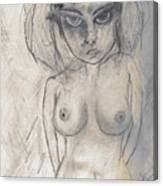 Drawing Dos Canvas Print