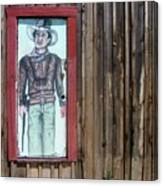 Drawing John Wayne Hondo  Medicine Horse Black Canyon City Arizona 2005 Canvas Print