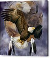 Dream Catcher - Spirit Eagle Canvas Print