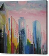 Dream City No.1 Canvas Print