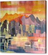 Dream City No.3 Canvas Print